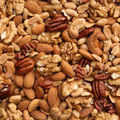 Nuts Boosting Food