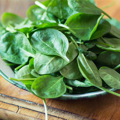 Spinach food