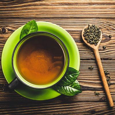 Drink Green Tea to Balance Hormones